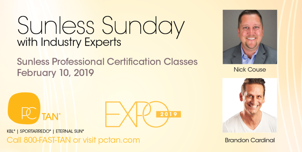 Sunless Sunday - Sunless Professional Certification Classes @ Hilton Hasbrouck Heights